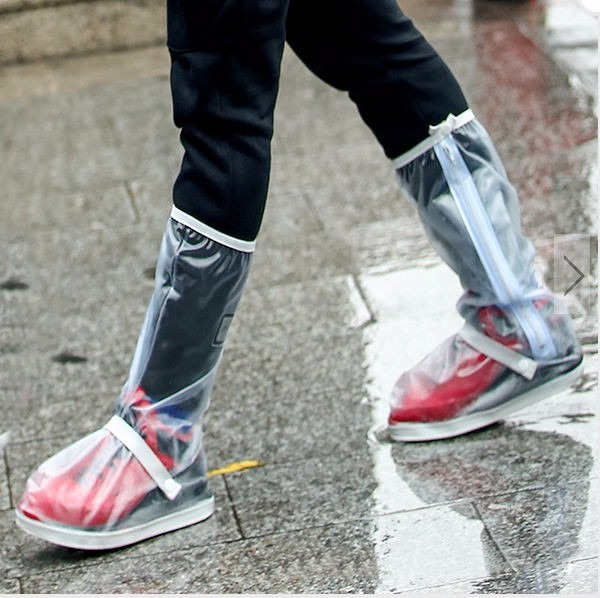 Botas Impermeables Protecci U00f3n Zapatos Lluvia Moto O Bici