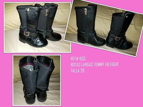botas importadas para niñas usadas carters, tommy originales
