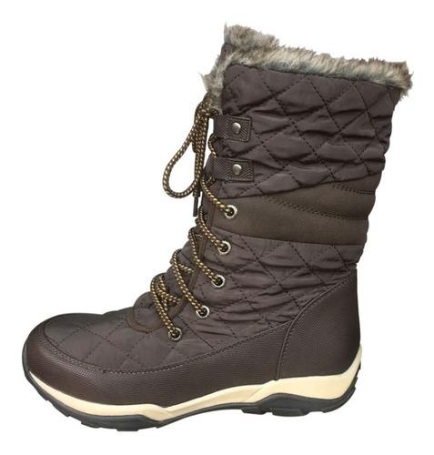 botas invierno mujer chiporro nieve frío c-1759 / angelstock