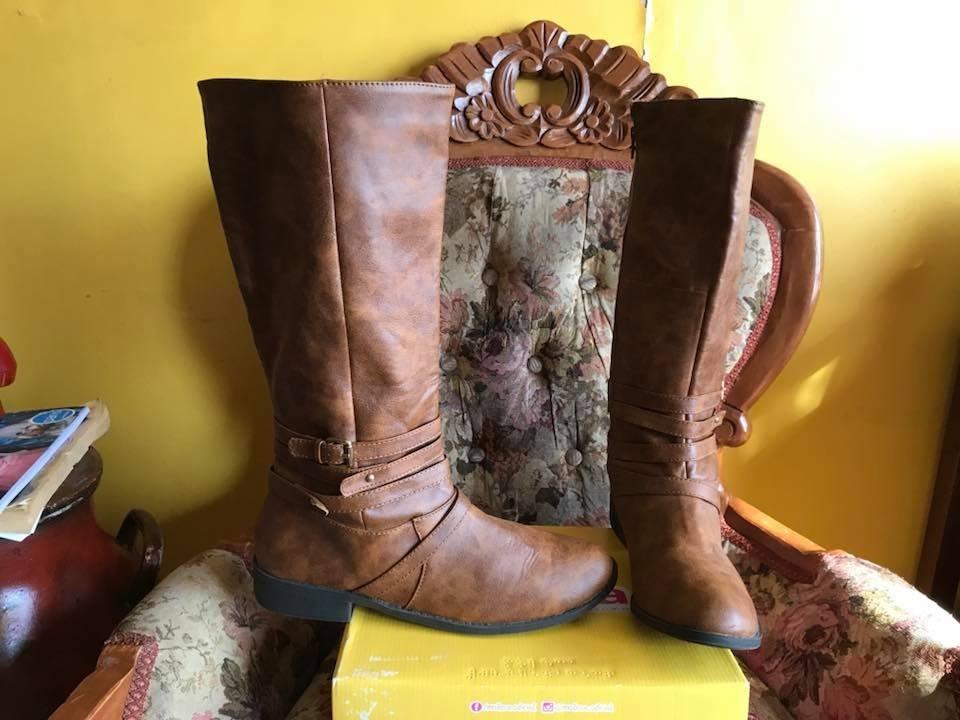 precio loco estilo moderno último vendedor caliente Botas Largas De Mujer Talla 43 Estilo Ecuestre - $ 22.000