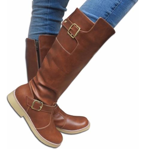 botas largas estilo montar talles grandes 41 42 43 44 mujer