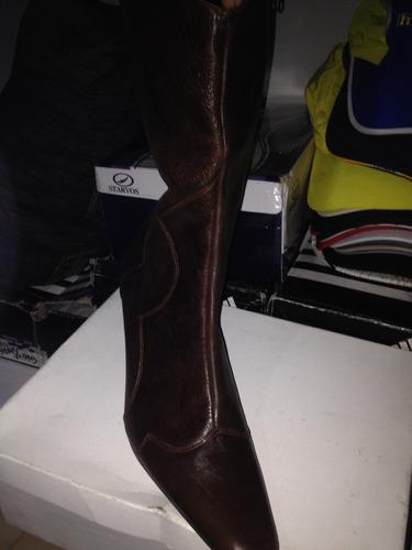 botas largas marrones nuevas