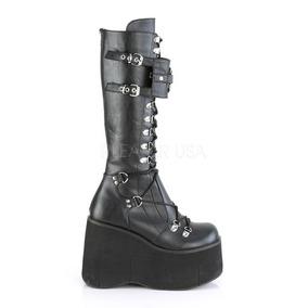 ac1b5243 Zapatos Plataforma Demonia Y Muro Botas Largas Mujer - Zapatos en ...