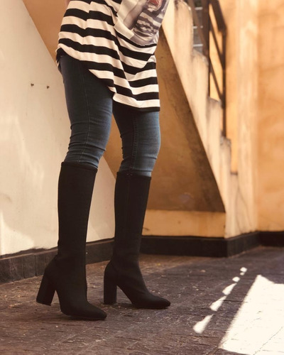 botas luis xv mujer elastizadas 2019 de calzadosoher