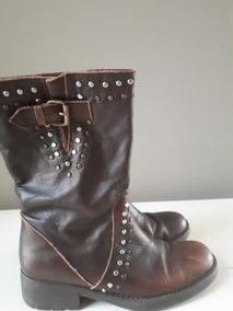 efd4bfb0 Zapatos Con Tachas Maggio Rossetto Botas Mujer - Botas y Botinetas ...
