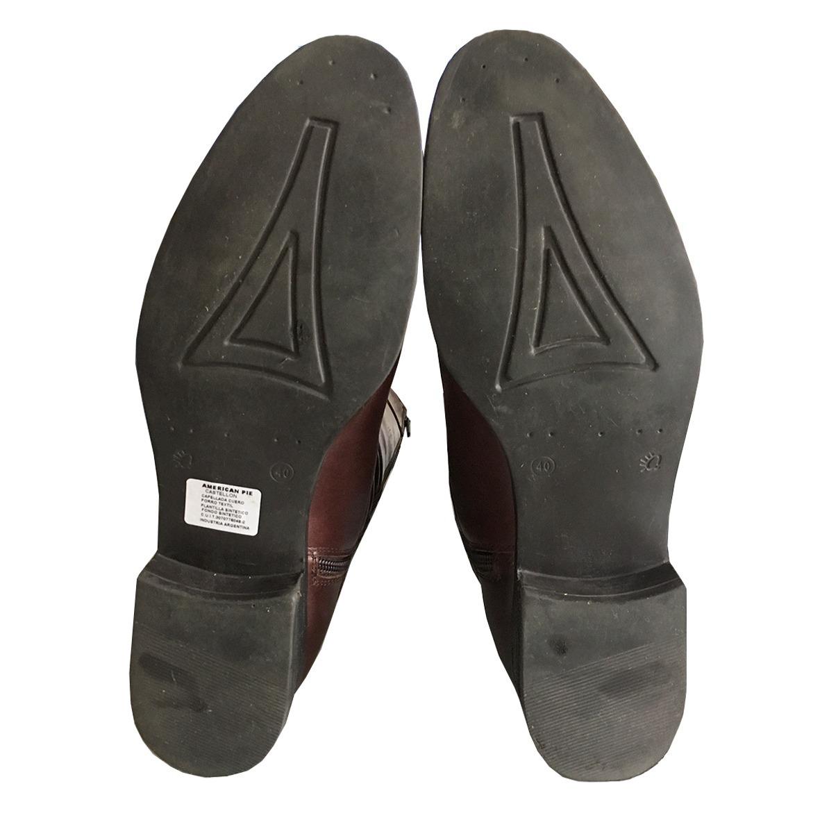 455d7402834df botas marrón american pie caña alta nº40 impecables! Cargando zoom.