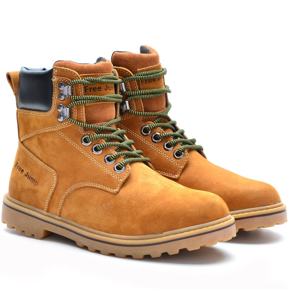 6cc72dc6f8 botas masculinas adventure trekking couro 100% confortável. Carregando zoom.