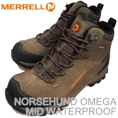 uusi julkaisu Amazon New York Botas Merrell Norsehund Omega Mid Waterproof Men's Hiking