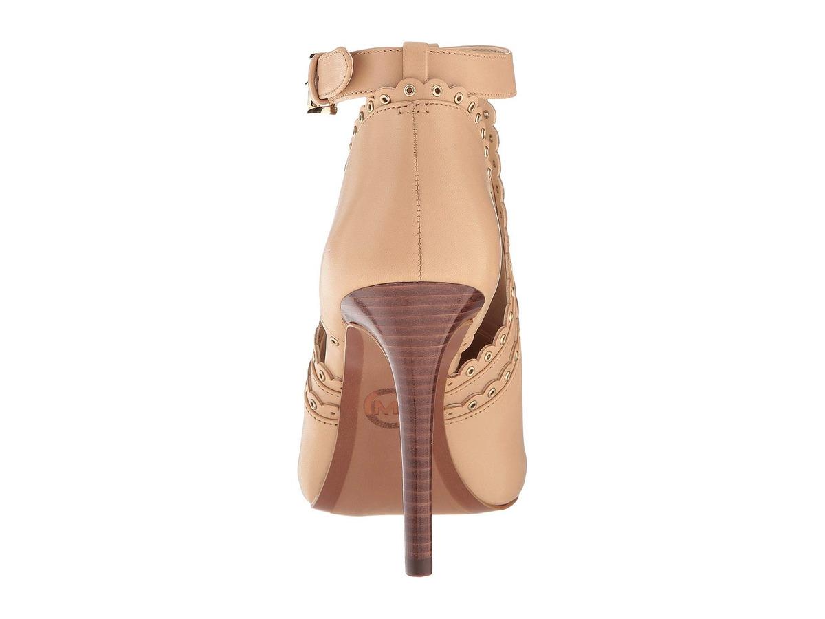 58edd6239 Botas Michael Michael Kors Jessie Open Toe Boot Nuevo-17707 ...