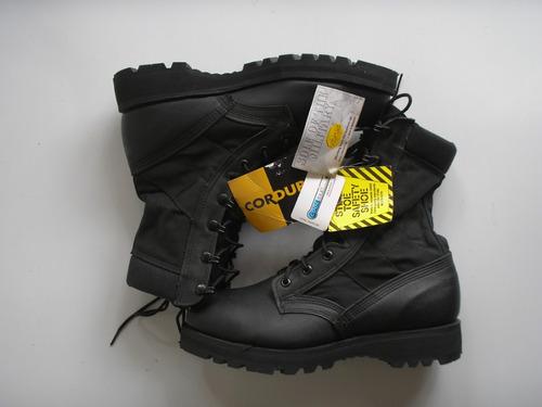 botas militares belleville us army negras punta acero7.5 r38