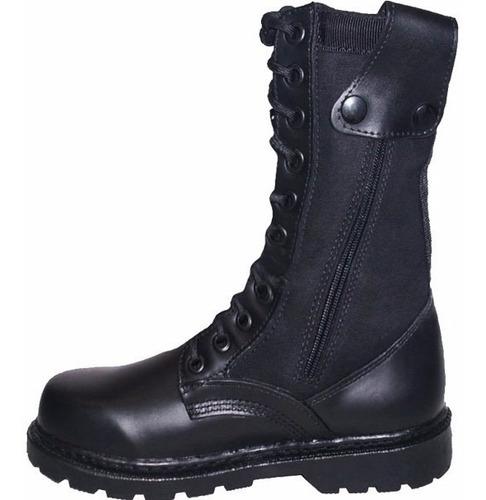botas militares hombre dama 100% piel ó piel c/ lona zapatos