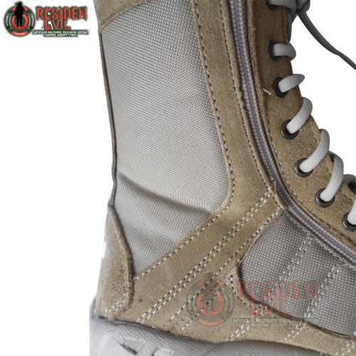 botas militares hombre para trabajo kaki negro repelente