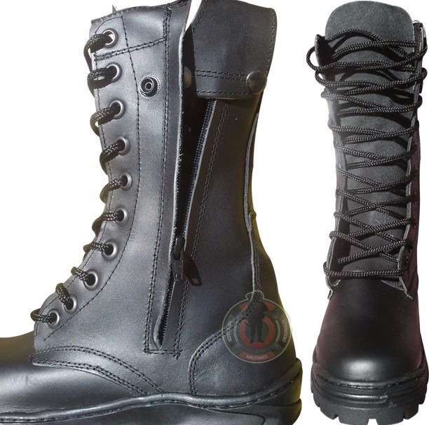 producto caliente venta caliente real vanguardia de los tiempos Botas Militares Tácticas 100% Piel Hombre Trabajo Comando