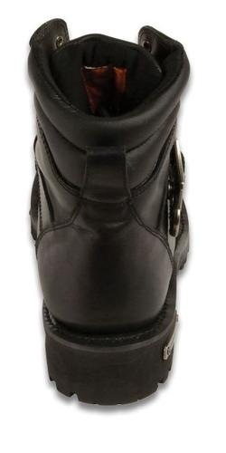 botas milwaukee c/hebilla cuero p/hombre usa 12 regular