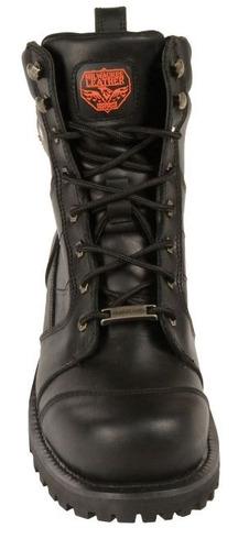 botas milwaukee p/hombre de cuero clásica negras regular 8.5