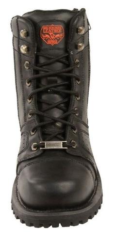 botas milwaukee p/hombre de cuero c/puntadas regular 9.5