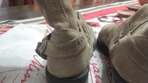 botas mimo&co gamuza