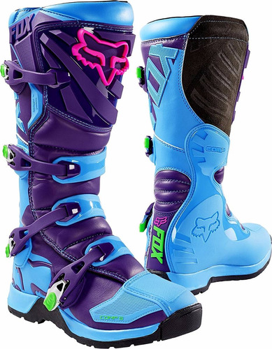 botas moto 2016 fox racing comp 5