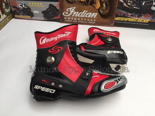 botas moto speed bike originales caña media talla 40-42-44