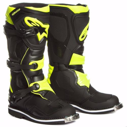 botas motocross alpinestars tech 1 fluo oficial store mdelta