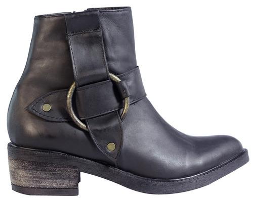 botas mujer botitas 100% cuero botinetas chatas tops zapatos