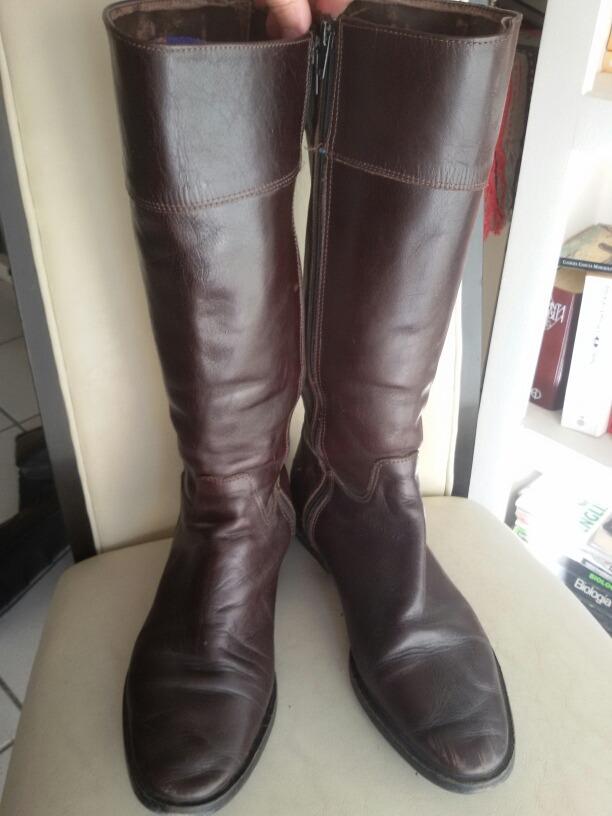 14e9bb84af7 botas mujer caña alta cuero marrón n° 38 clona. Cargando zoom.
