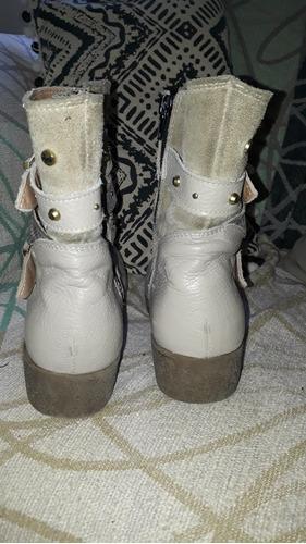 botas mujer eco cuero