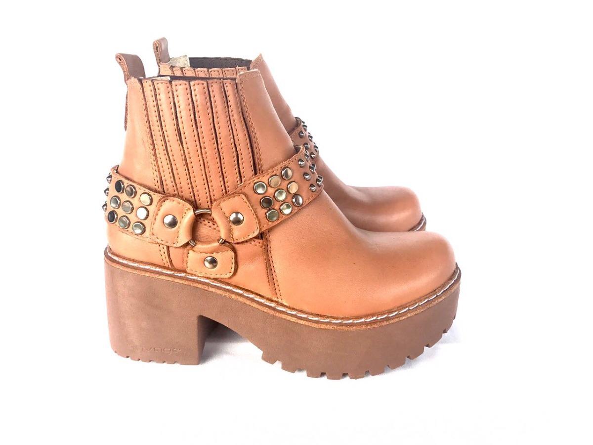 Calidad superior 32271 b520b Botas Mujer Invierno 2018 Cuero Moda Zapatos Cielo Store
