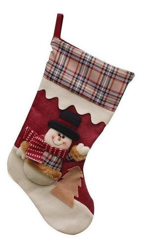 botas navideñas santa, reno y muñeco de nieve juego de 3