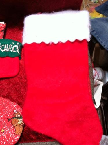 botas navideñas y dulcero
