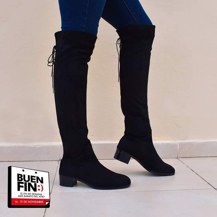 comprar popular b7fbe 26b7d Botas Negras Altas 970