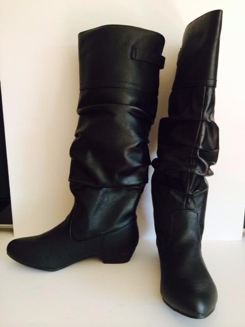 nueva apariencia Zapatos 2018 al por mayor online Botas Negras Altas Usa Importadas Para Mujer