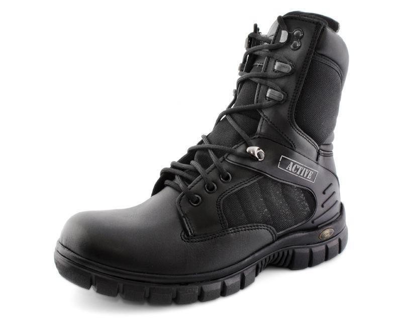 f3f89d97e99 Botas Negras De Piel Para Hombre Omar Castell - $ 949.00 en Mercado ...