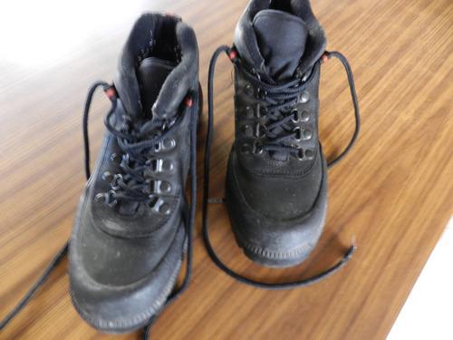 botas negras para dama