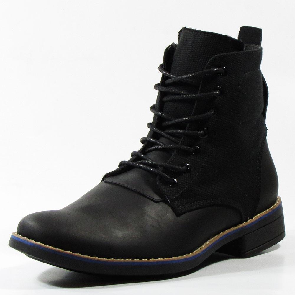 b9b0a14a9d1 botas negras para hombre en cuero artur - outletshop -. Cargando zoom.