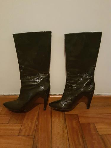 botas negras paruolo