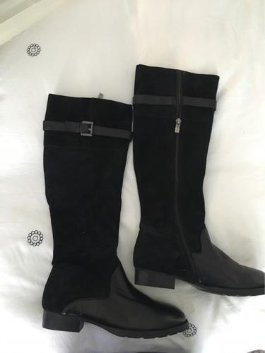 botas negras vía uno