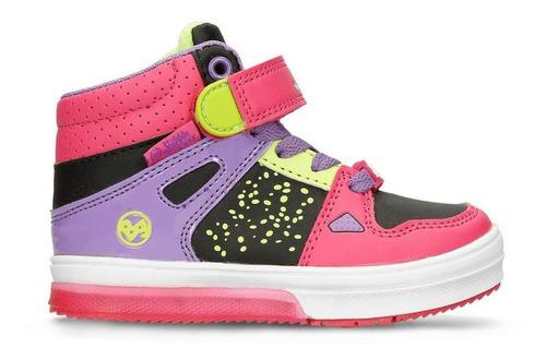 botas negro/fucsia bubblegummers ilaria niña