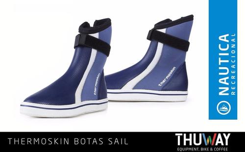 botas neoprene y goma thermoskin sail importada - thuway