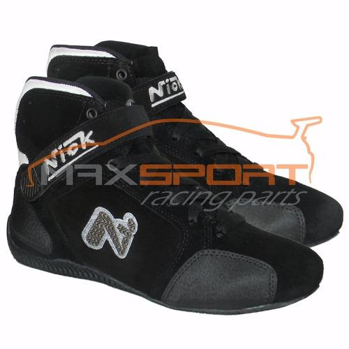 botas nick g-nk automovilismo competición karting
