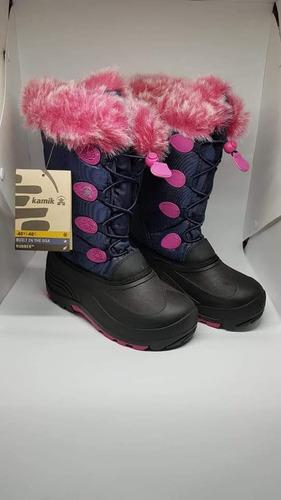 botas nieve kamik 37 y medio niña- mujer