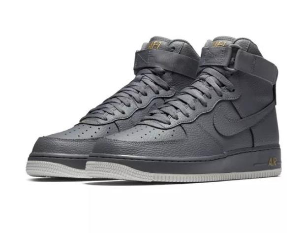 c18837c1cba5a Botas Nike Air Force 07 High Gris Hombre -   5.200