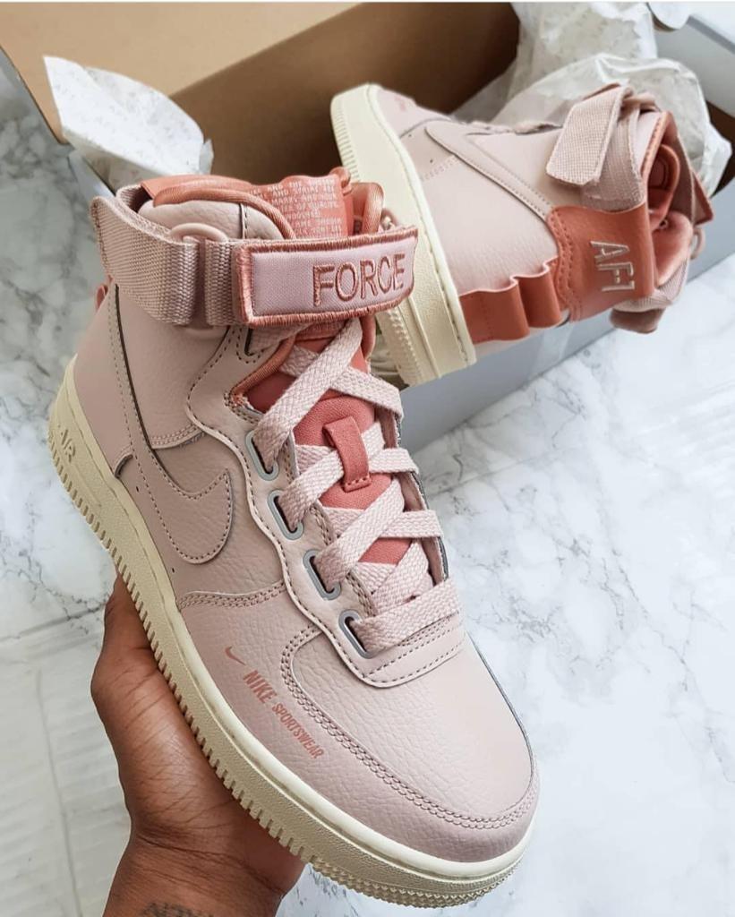 Botas Nike Air Force 1 Sportwear - Dama - 2019