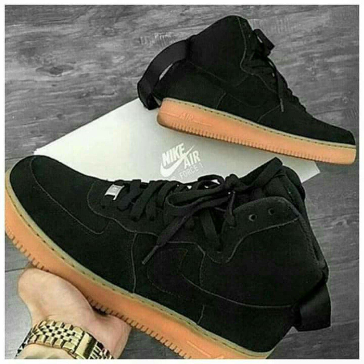 nike air force de bota