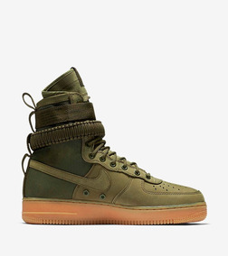 Green One Nike Air Field Special Force Botas Af1 wP80Onk