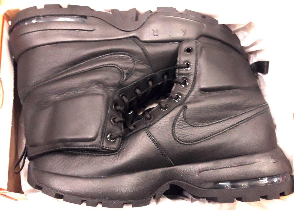4b266c3a3d93 botas nike air max goaterra 2.0 suela capsula total black. Cargando zoom.