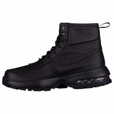 53a6e58499b1 Botas Nike Air Max Goaterra 2.0 Suela Capsula Total Black ...