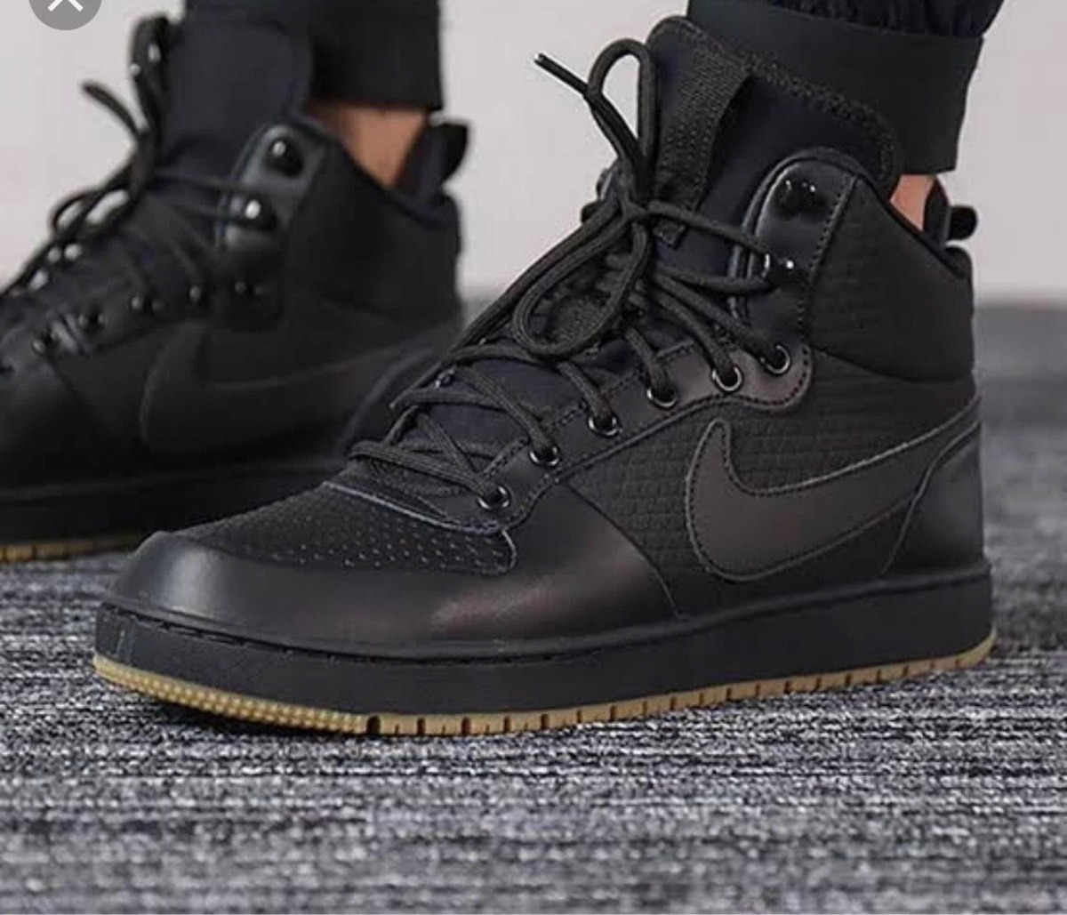 top brands to buy casual shoes Botas Nike Ebernon Mid Winter Black