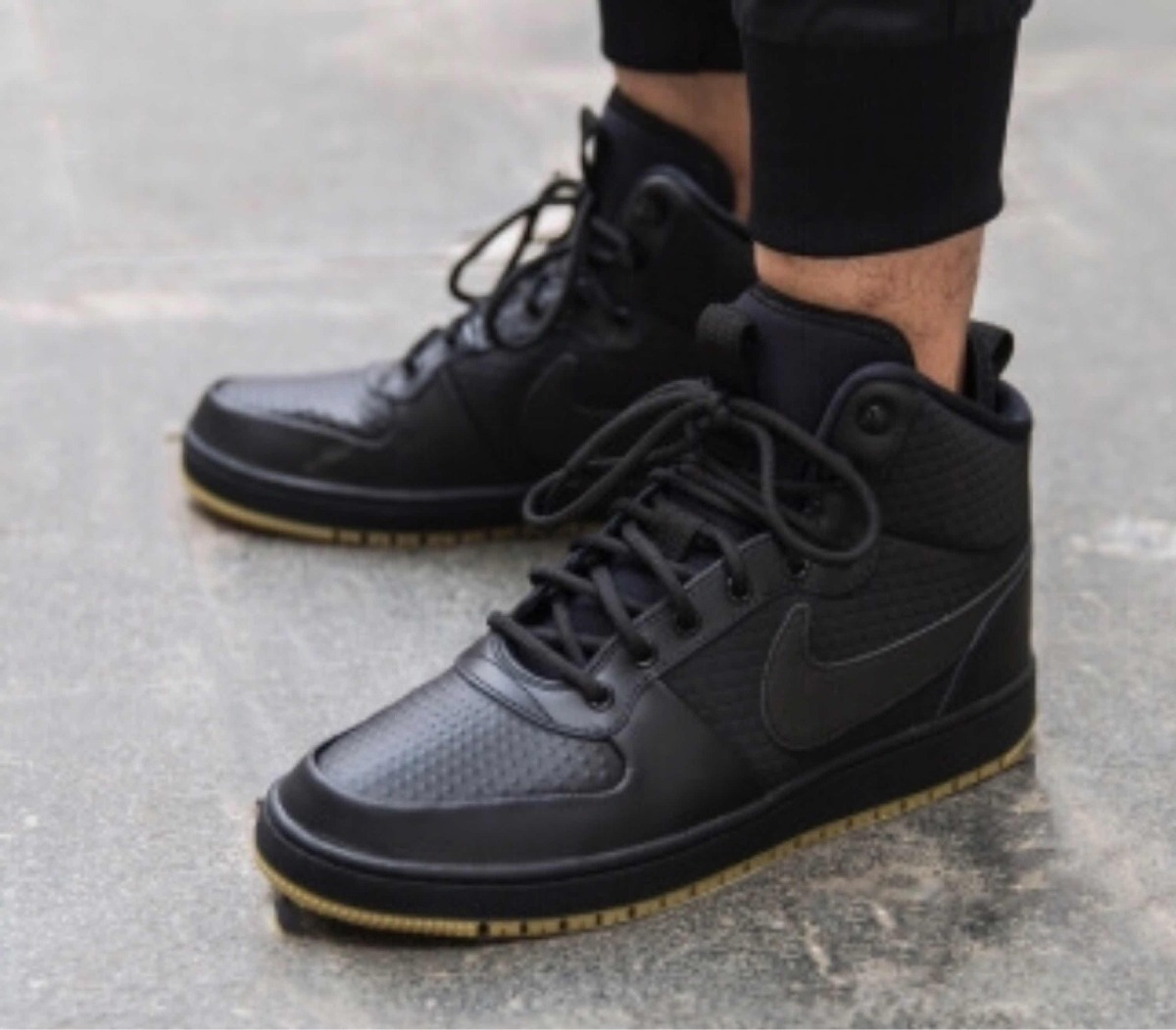 buying new best online well known Botas Nike Ebernon Mid Winter Black (piel Vacuno)