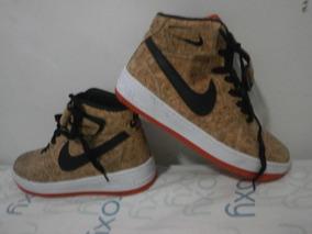 quality design f965c 8a768 Botas Nike Force De Corcho Corte Alto